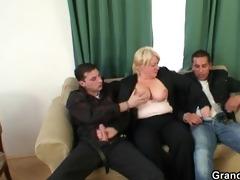 trio orgy
